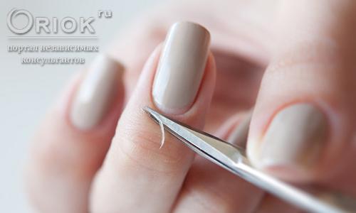 Как правильно обрезать кутикулу кусачками в домашних условиях